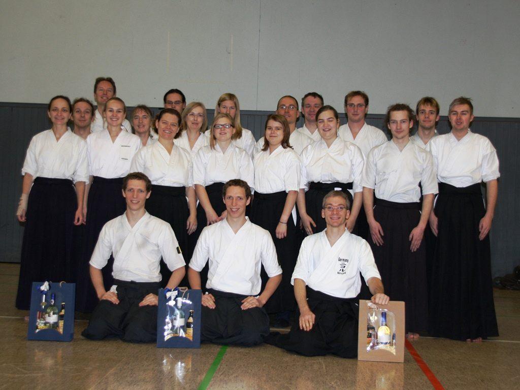 Kyû-Prüfung 2011 in Mainz