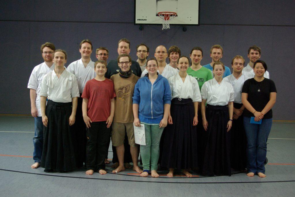 Kyû-Prüfung 2013 in Mainz