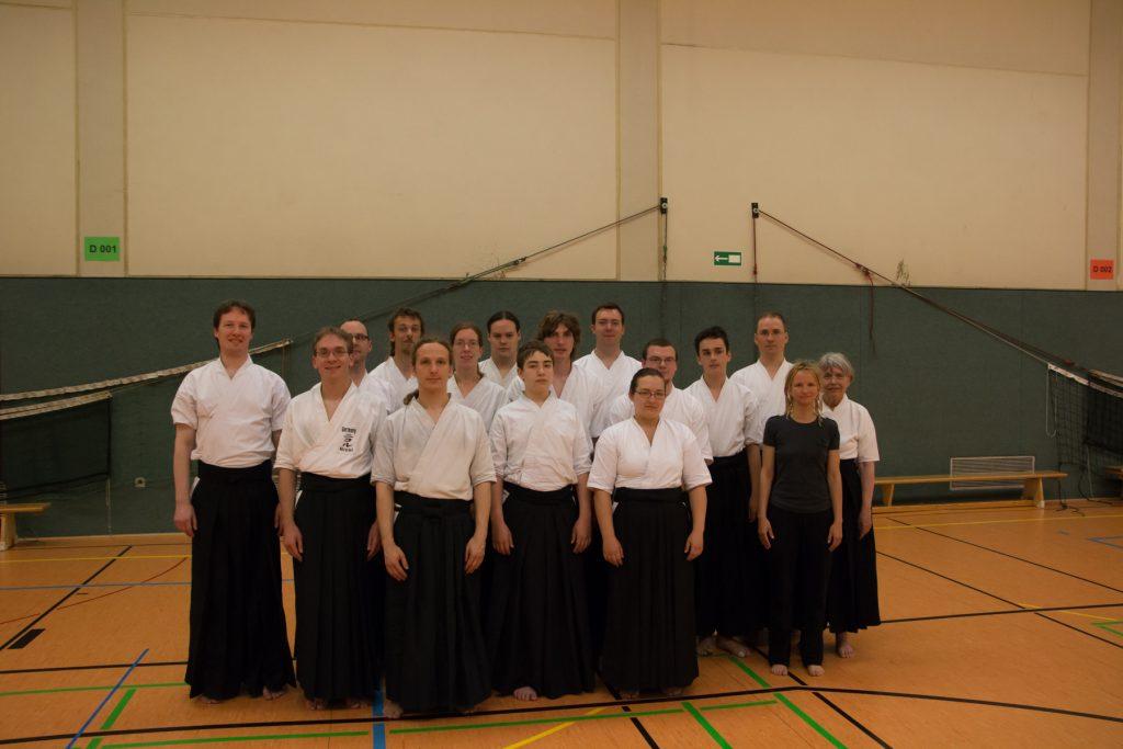 Kyû-Prüfung 2014 in Leverkusen